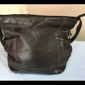 The Sak Pebble Leather Shoulder Bag